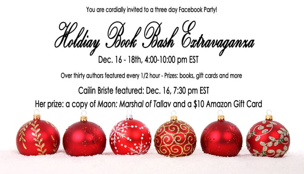 Holiday Book Bash Extravaganza 2016 Cailin Briste