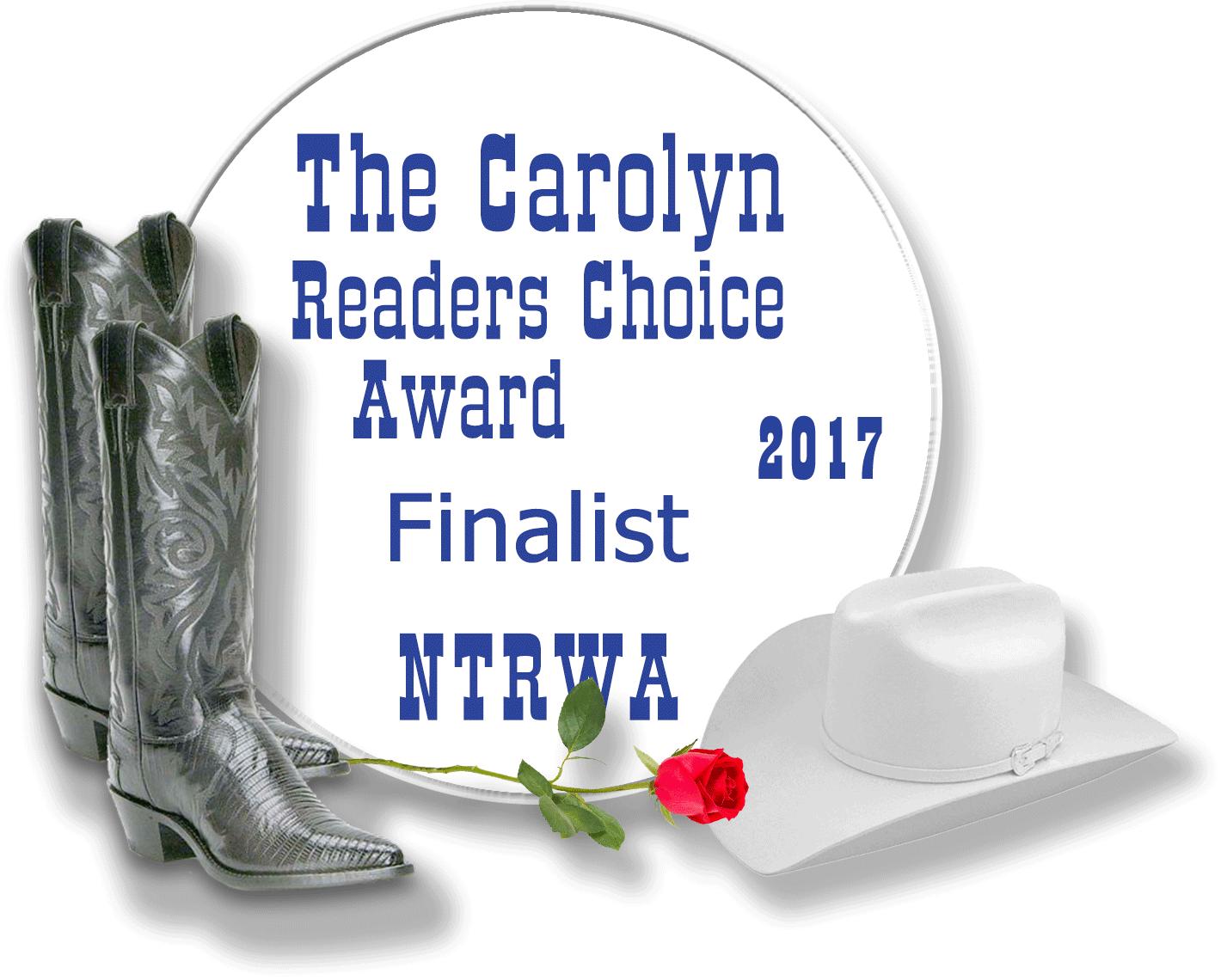 The Carolyn Readers Choice Award judges have chosen Maon: Marshal of Tallav as 1 of 5 finalists. #SonsofTallav @CailinBriste