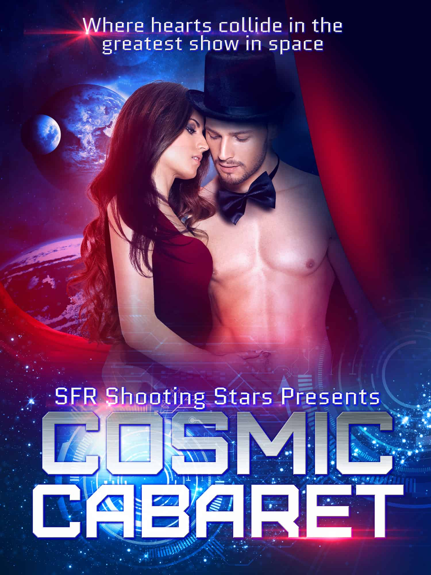 Forbidden Alliance by Athena Grayson In Cosmic Cabaret the new anthology from SFR Shooting Stars. 13 sci-fi romance novellas. Preorder $2.99.